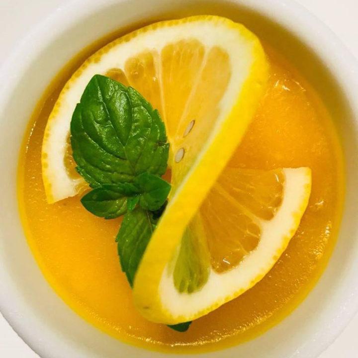 Crema di ananas al limone